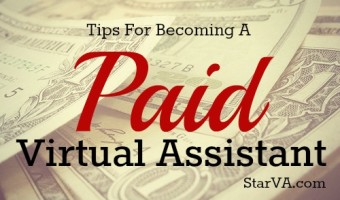 How to Become a Paid Virtual Assistant