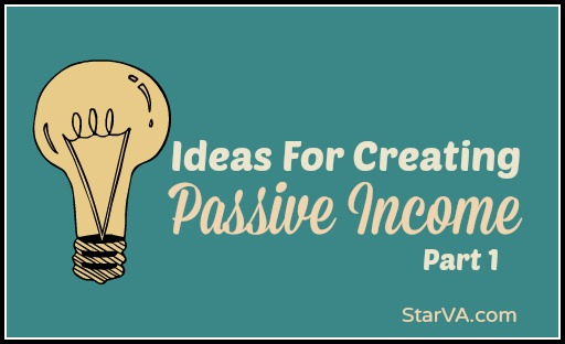 Passive Income for Virtual Assistants