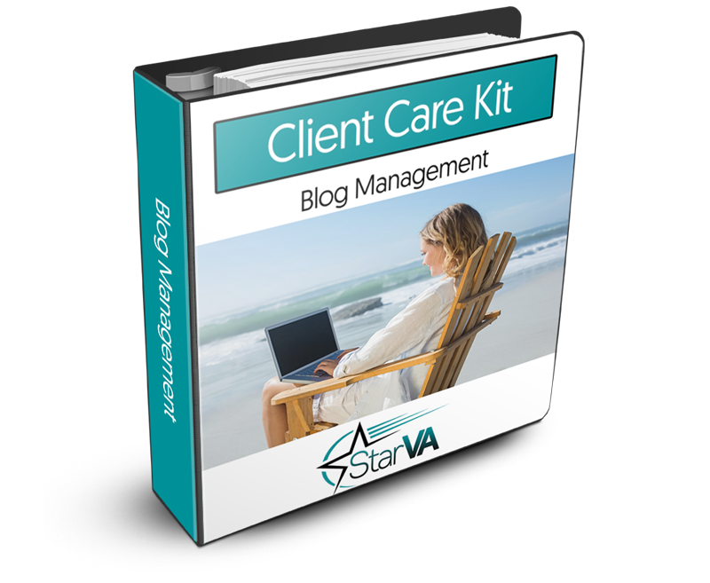 Blog Management Client Care Kit