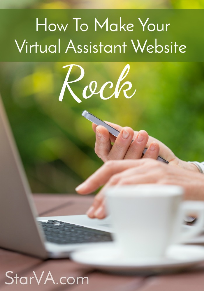 How to make your virtual assistant website rock