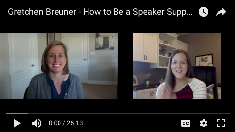 Speaker Support Virtual Assistant
