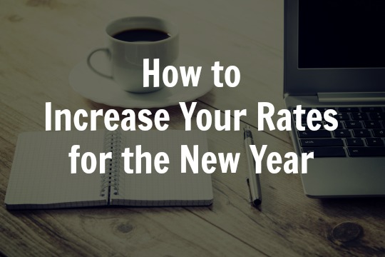 increase your rates